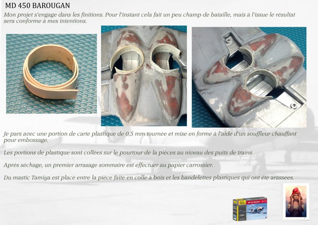 DASSAULT MD450 OURAGAN - CONVERSION BAROUGAN - 1/72  05510
