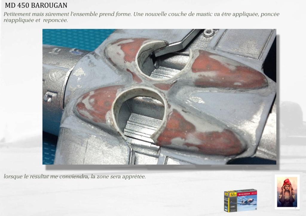 DASSAULT MD450 OURAGAN - CONVERSION BAROUGAN - 1/72  05710
