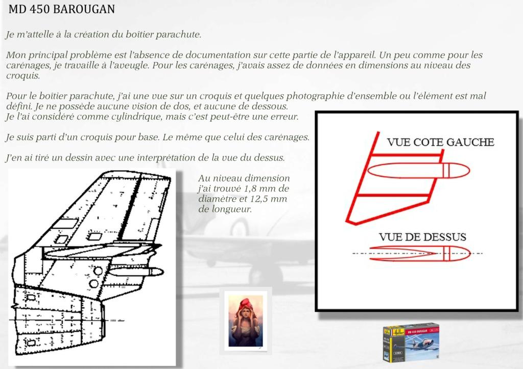 DASSAULT MD450 OURAGAN - CONVERSION BAROUGAN - 1/72  - Page 2 06011