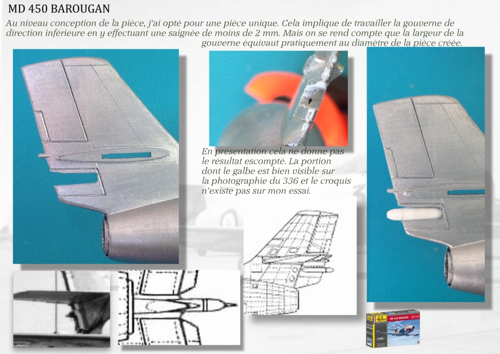 DASSAULT MD450 OURAGAN - CONVERSION BAROUGAN - 1/72  - Page 2 06110