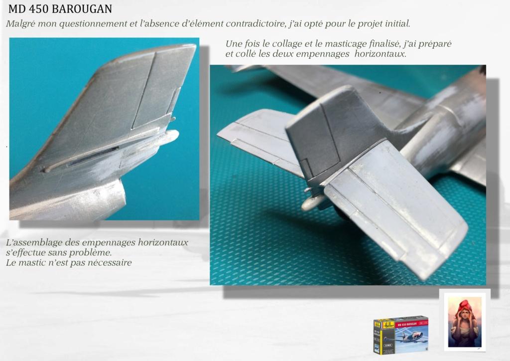 DASSAULT MD450 OURAGAN - CONVERSION BAROUGAN - 1/72  - Page 2 06310
