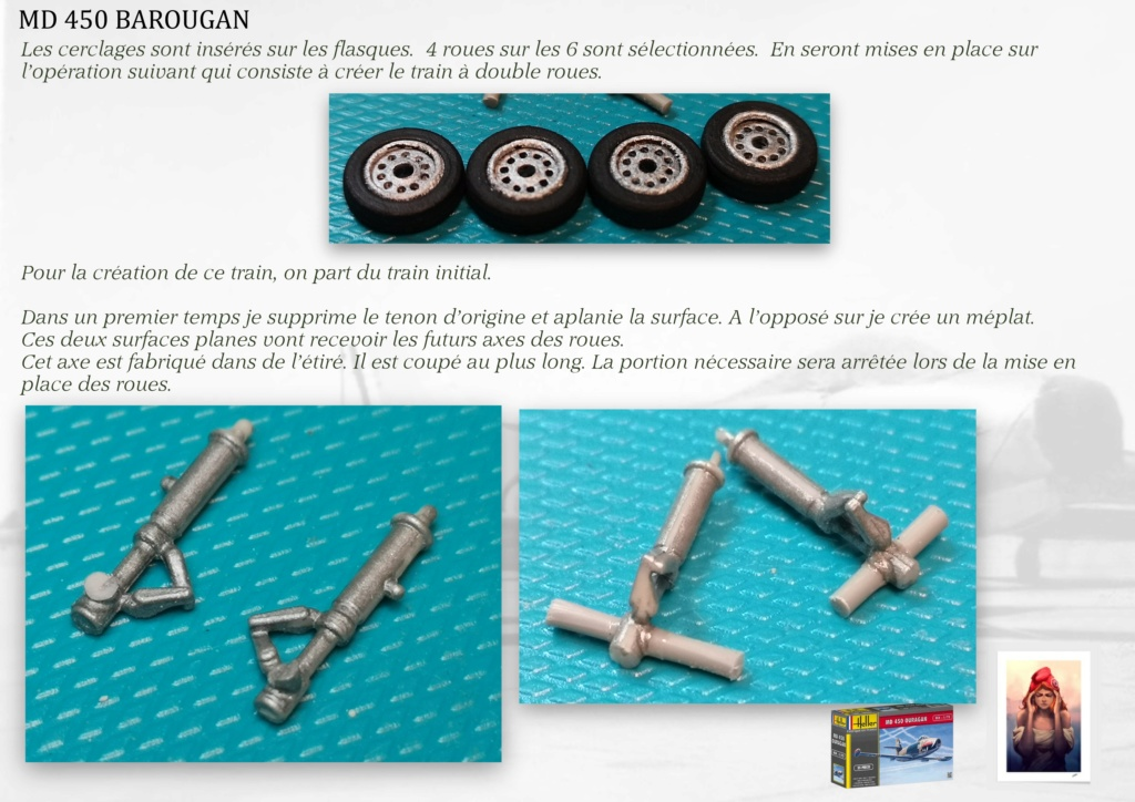 DASSAULT MD450 OURAGAN - CONVERSION BAROUGAN - 1/72  - Page 2 07810