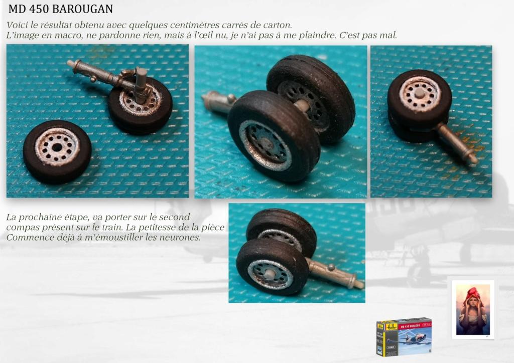 DASSAULT MD450 OURAGAN - CONVERSION BAROUGAN - 1/72  - Page 2 07910