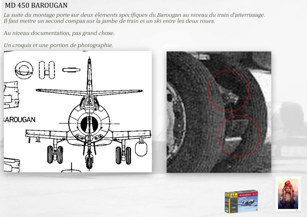DASSAULT MD450 OURAGAN - CONVERSION BAROUGAN - 1/72  - Page 2 08010