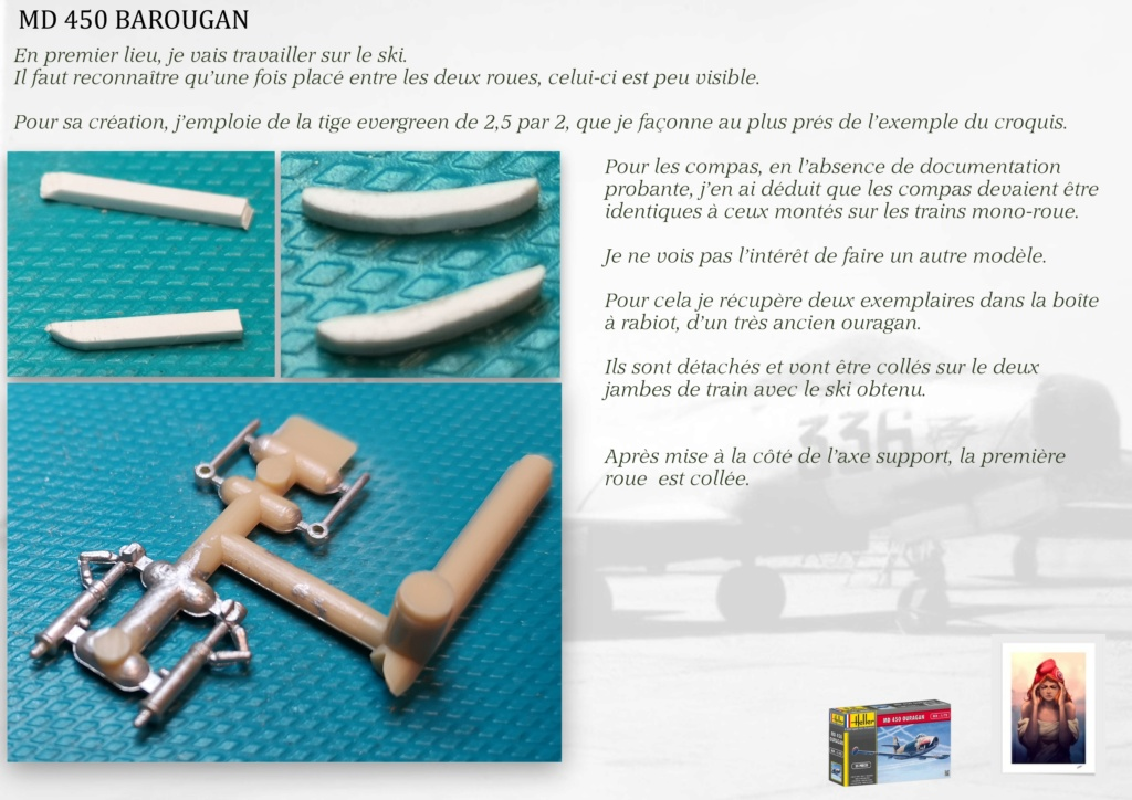DASSAULT MD450 OURAGAN - CONVERSION BAROUGAN - 1/72  - Page 2 08110