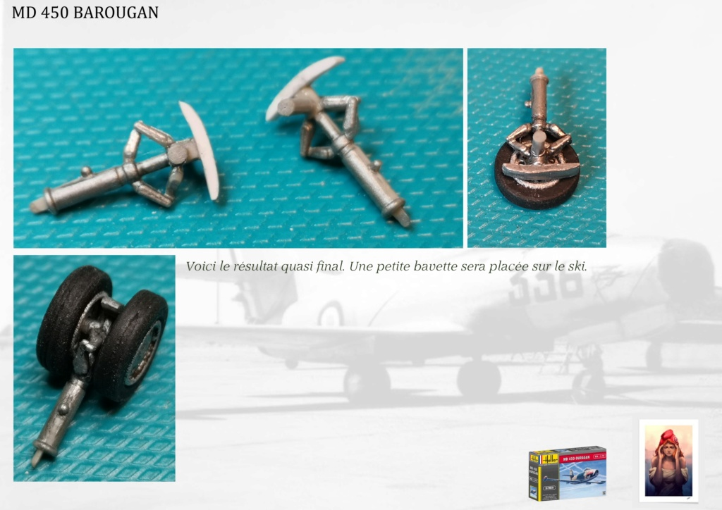 DASSAULT MD450 OURAGAN - CONVERSION BAROUGAN - 1/72  - Page 2 08210