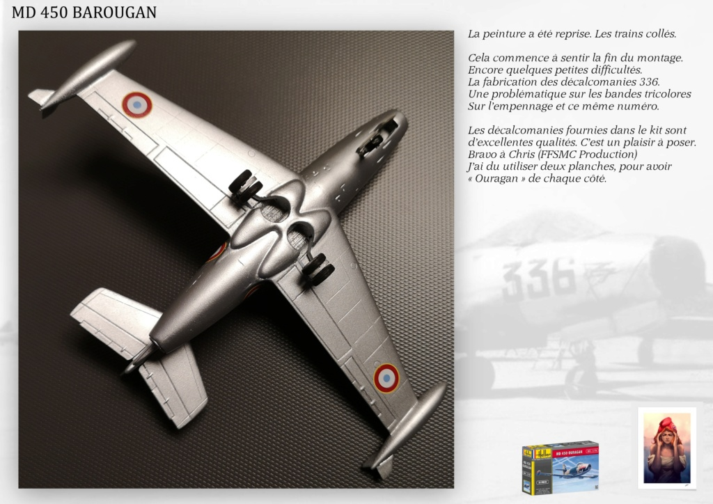 DASSAULT MD450 OURAGAN - CONVERSION BAROUGAN - 1/72  - Page 2 08310