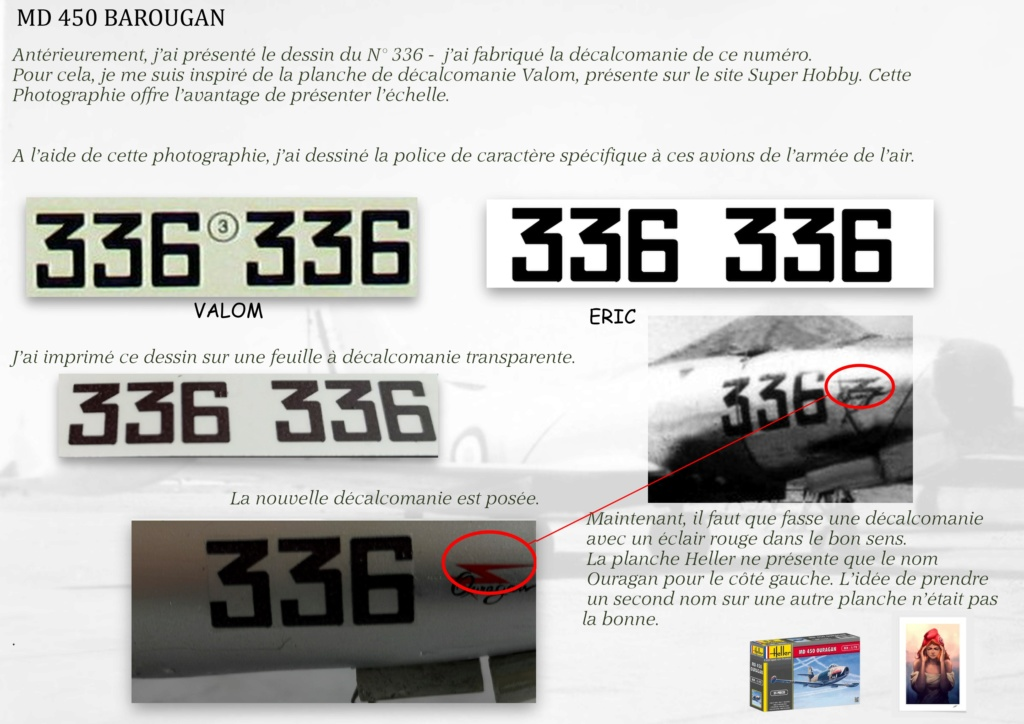 DASSAULT MD450 OURAGAN - CONVERSION BAROUGAN - 1/72  - Page 2 08410
