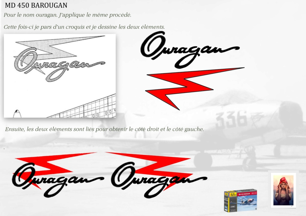 DASSAULT MD450 OURAGAN - CONVERSION BAROUGAN - 1/72  - Page 2 08510
