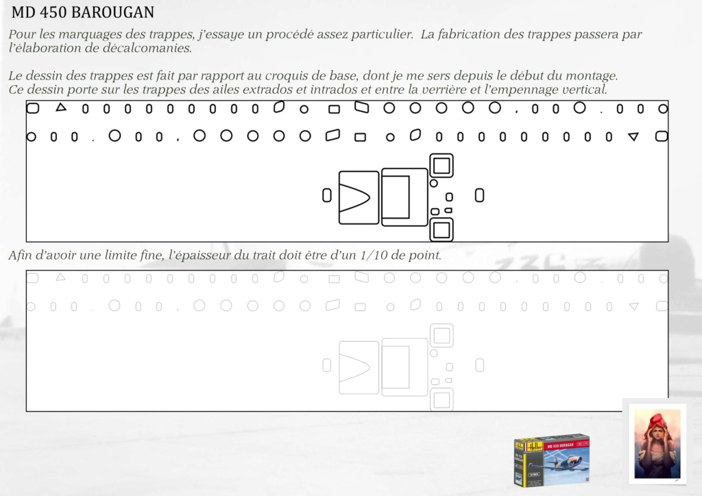 DASSAULT MD450 OURAGAN - CONVERSION BAROUGAN - 1/72  - Page 2 08610