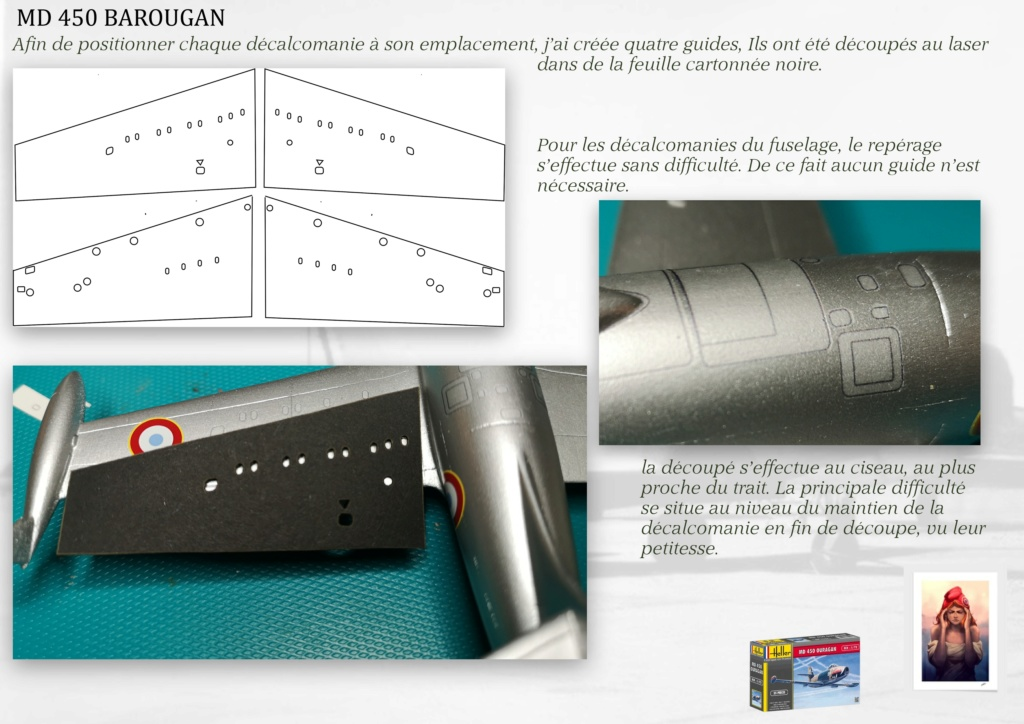 DASSAULT MD450 OURAGAN - CONVERSION BAROUGAN - 1/72  - Page 2 08710