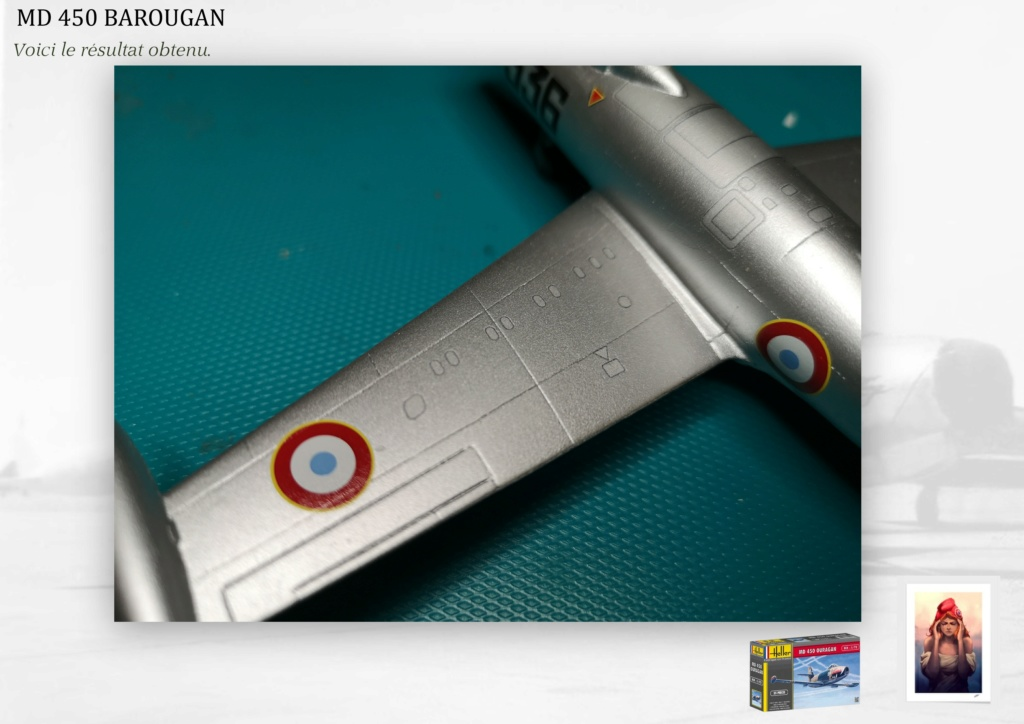 DASSAULT MD450 OURAGAN - CONVERSION BAROUGAN - 1/72  - Page 2 08810