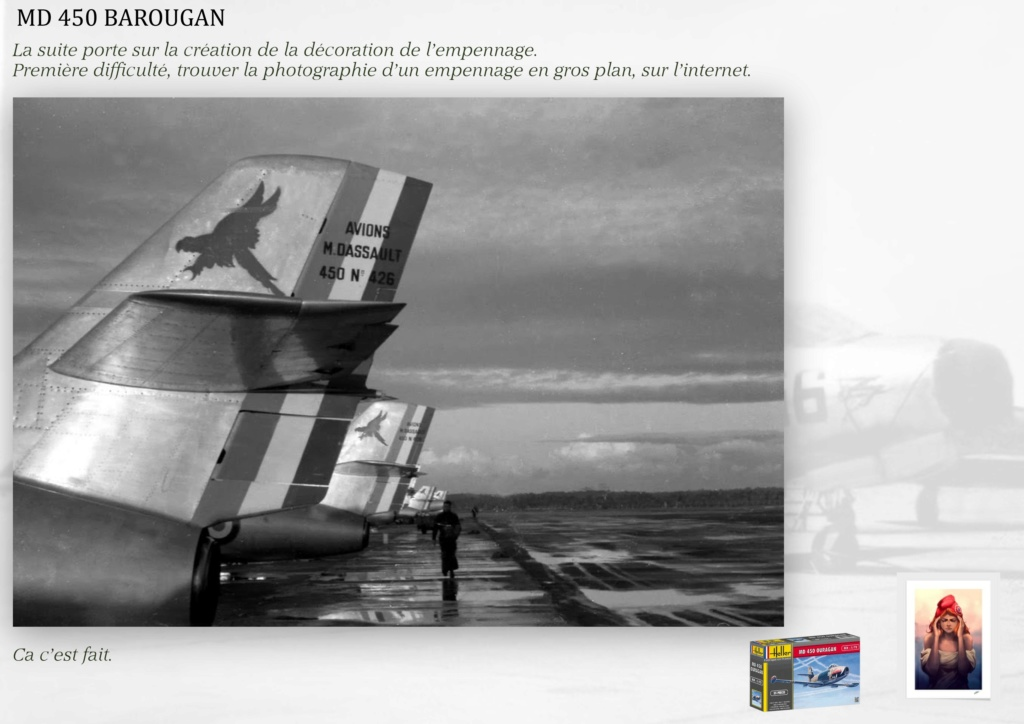 DASSAULT MD450 OURAGAN - CONVERSION BAROUGAN - 1/72  - Page 2 08910