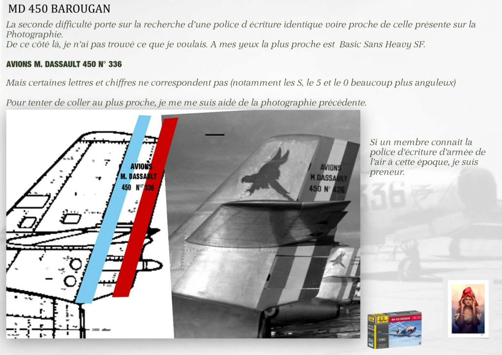 DASSAULT MD450 OURAGAN - CONVERSION BAROUGAN - 1/72  - Page 2 09010