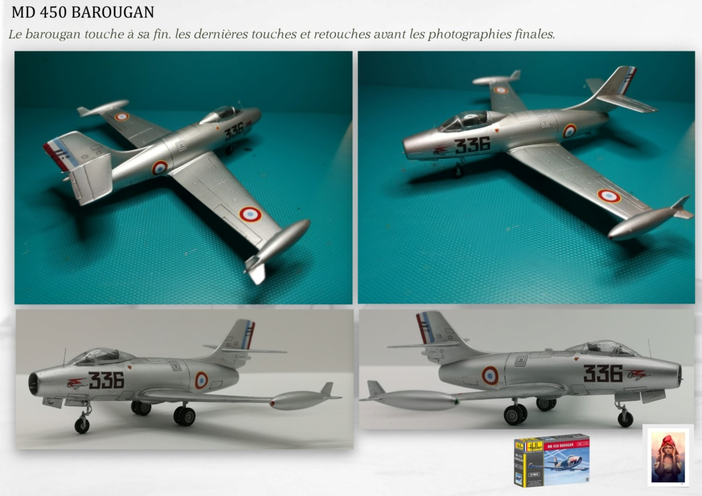 DASSAULT MD450 OURAGAN - CONVERSION BAROUGAN - 1/72  - Page 2 09210