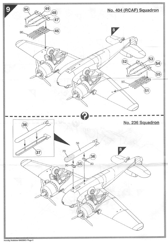 From the box - BRISTOL BEAUFIGTHER TF-X - AIRFIX - 1/72 - Terminé en page 4 10933613