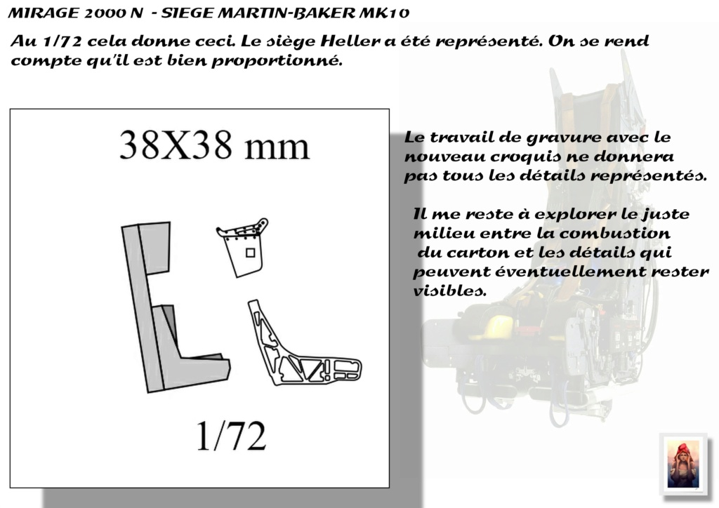 Sièges Martin-Baker MK10 - Scratch - 1/72 - Mirage 2000 N A_sieg11