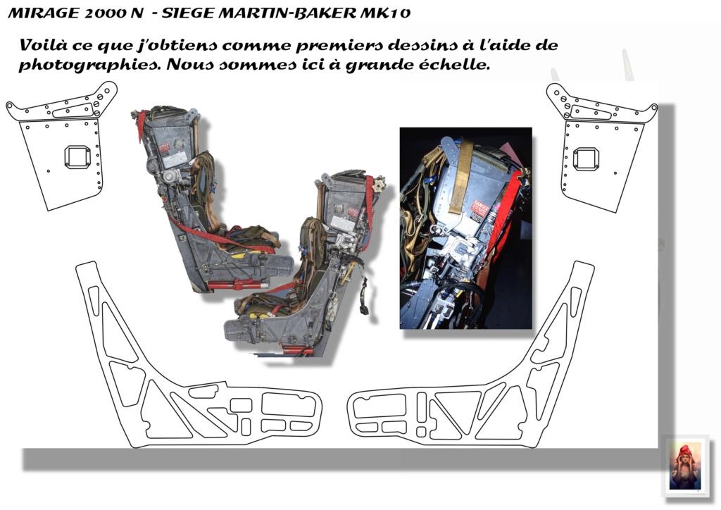 Sièges Martin-Baker MK10 - Scratch - 1/72 - Mirage 2000 N A_sieg13