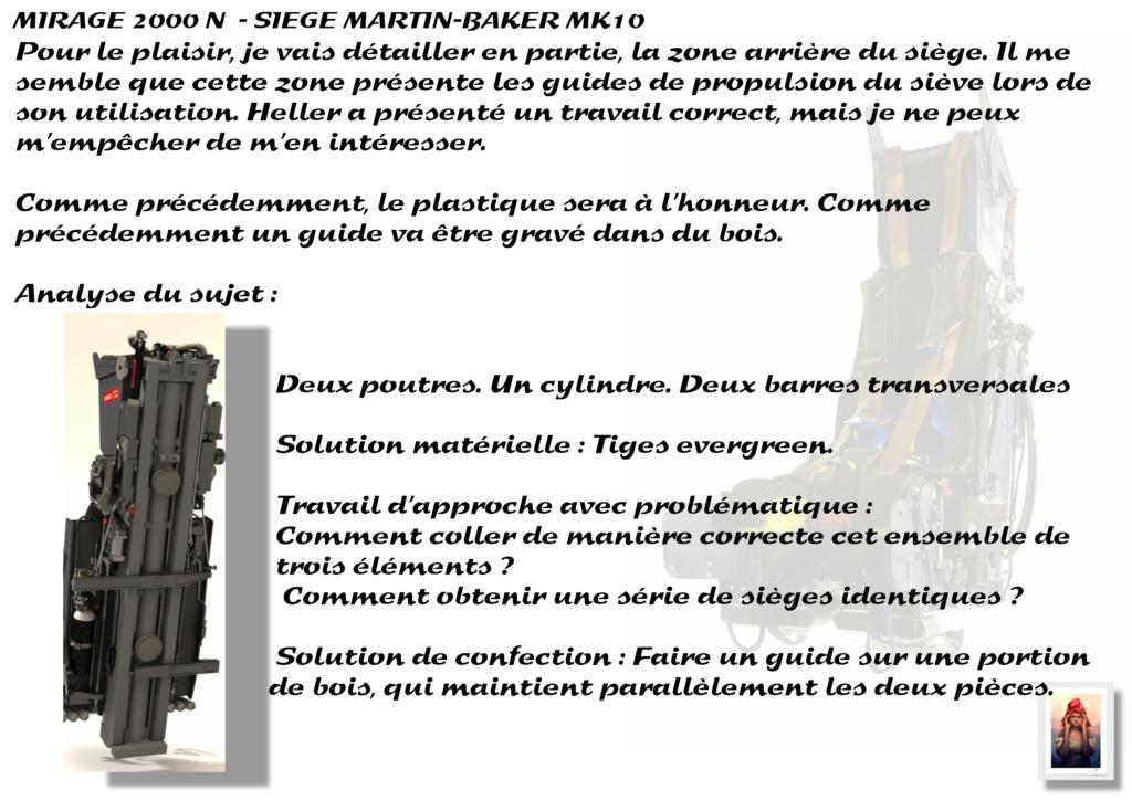 Sièges Martin-Baker MK10 - Scratch - 1/72 - Mirage 2000 N A_sieg23