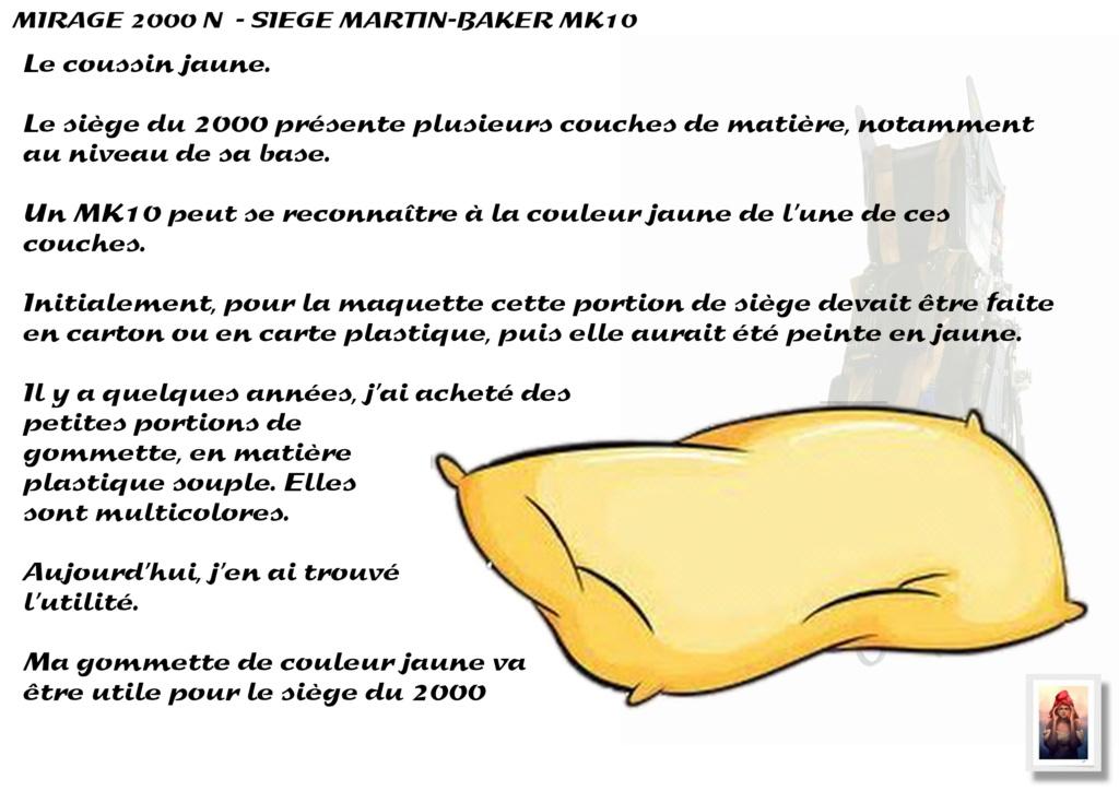 Sièges Martin-Baker MK10 - Scratch - 1/72 - Mirage 2000 N A_sieg27