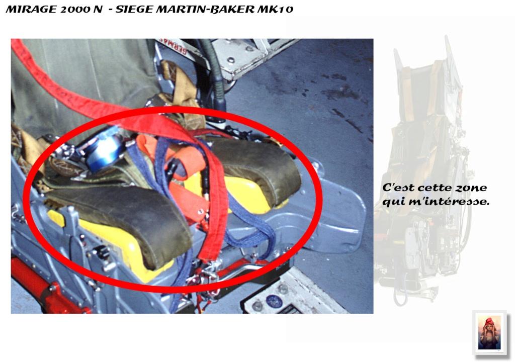 Sièges Martin-Baker MK10 - Scratch - 1/72 - Mirage 2000 N A_sieg28