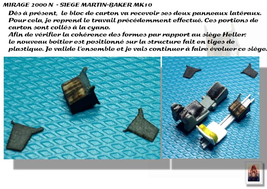 Sièges Martin-Baker MK10 - Scratch - 1/72 - Mirage 2000 N A_sieg32