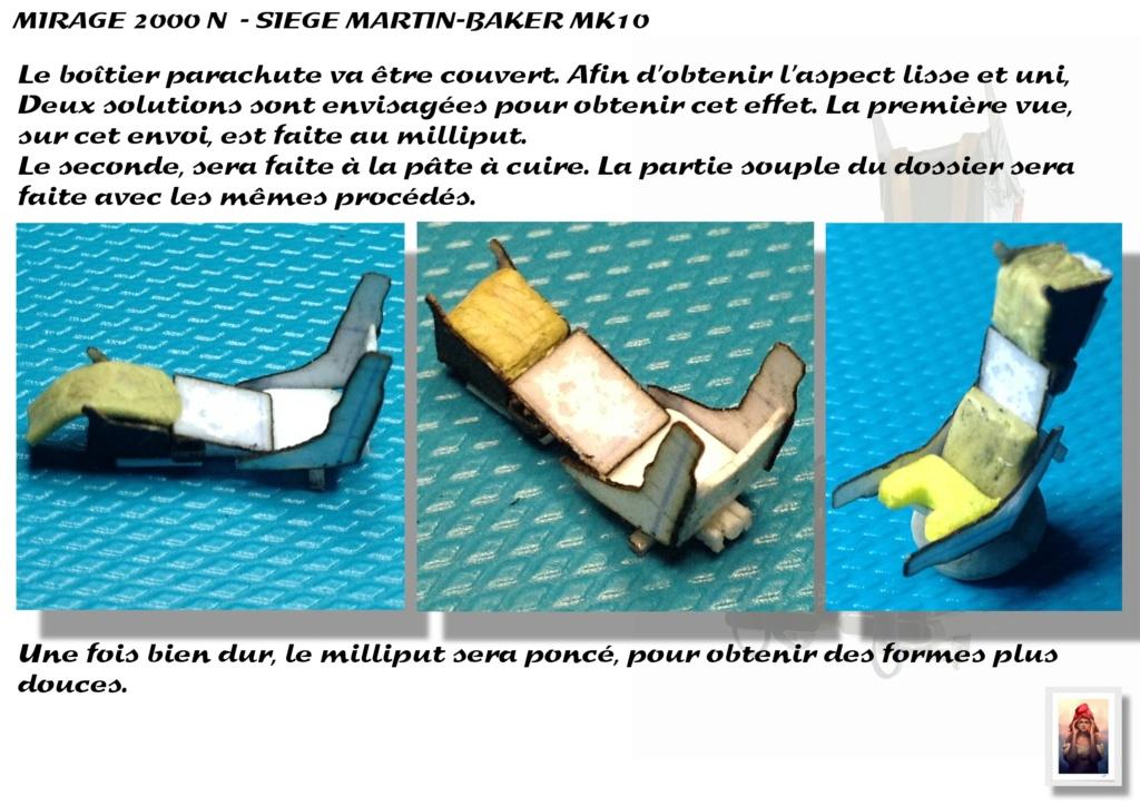 Sièges Martin-Baker MK10 - Scratch - 1/72 - Mirage 2000 N A_sieg37