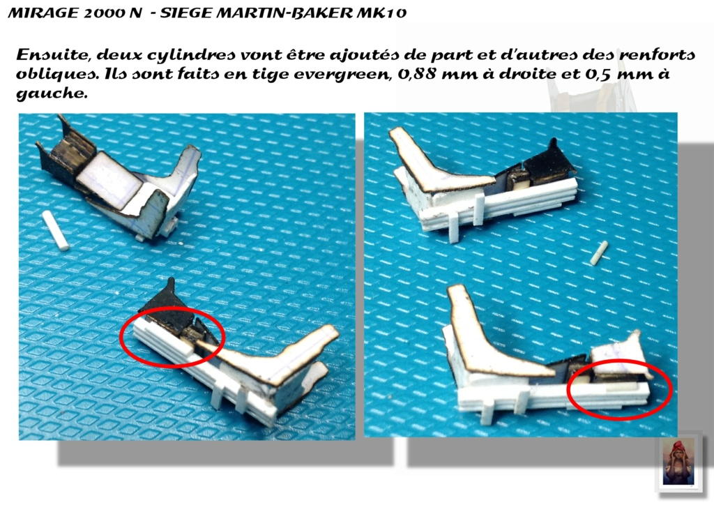 Sièges Martin-Baker MK10 - Scratch - 1/72 - Mirage 2000 N A_sieg39