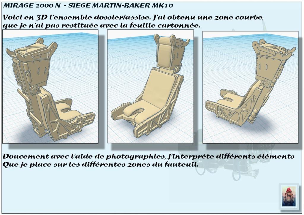 Sièges Martin-Baker MK10 - Scratch - 1/72 - Mirage 2000 N - Page 2 A_sieg46