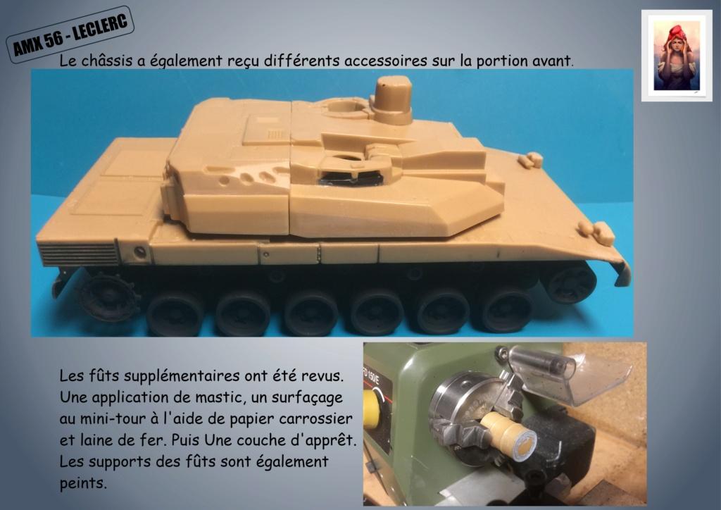 AMX 56 - LECLERC - HELLER 1/35 - FINI PAGE 7 - Page 2 Amx56121
