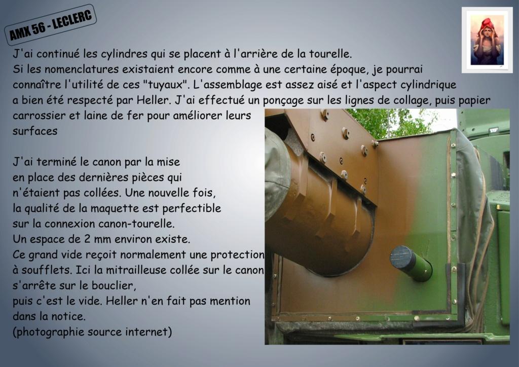 AMX 56 - LECLERC - HELLER 1/35 - FINI PAGE 7 - Page 2 Amx56124