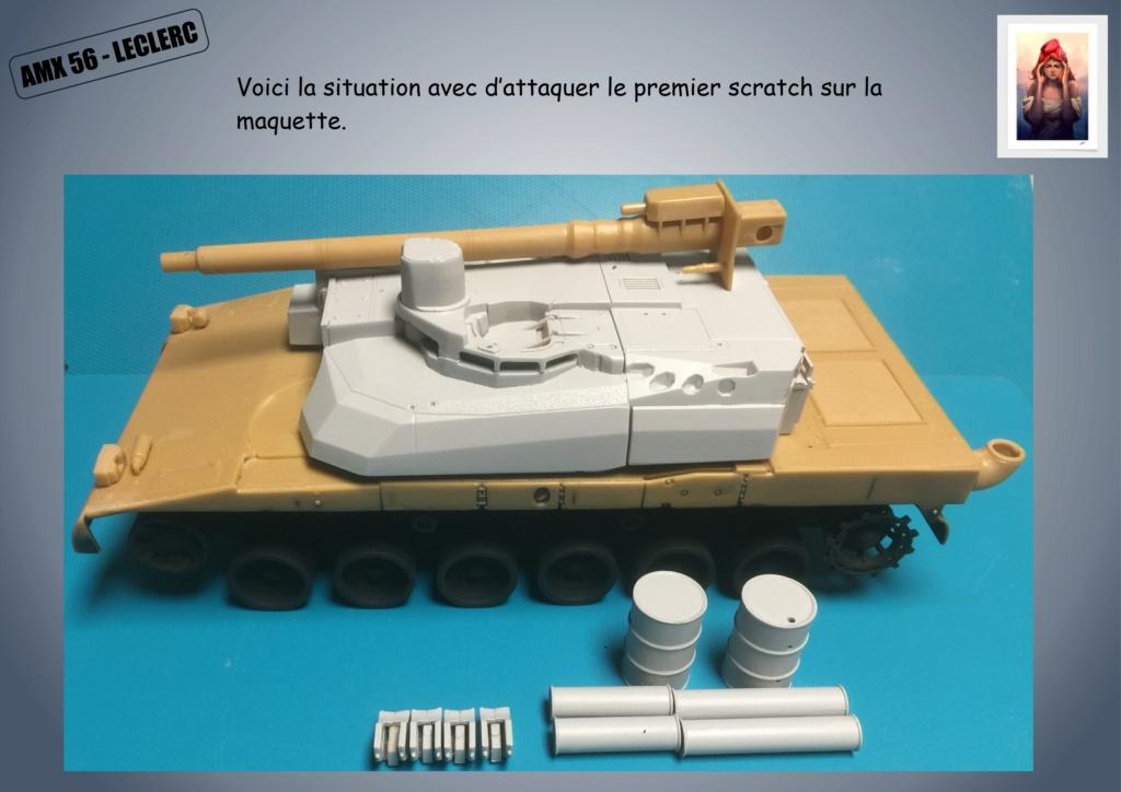 AMX 56 - LECLERC - HELLER 1/35 - FINI PAGE 7 - Page 2 Amx56125