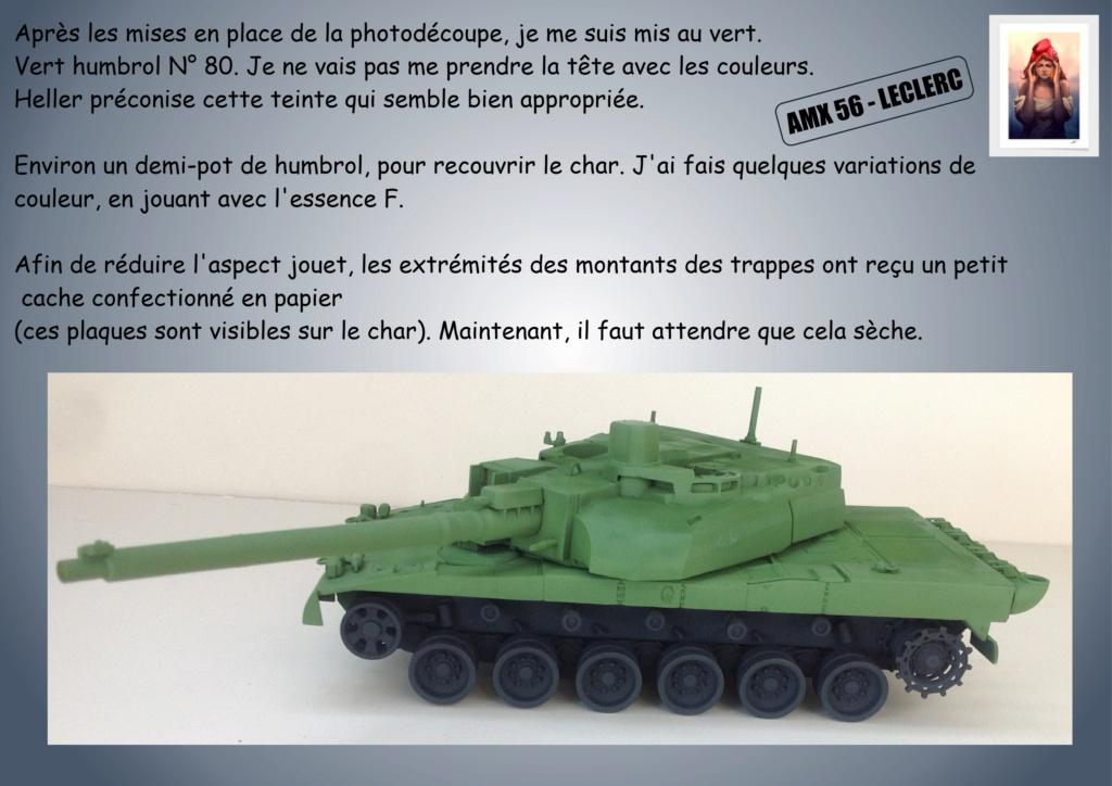 AMX 56 - LECLERC - HELLER 1/35 - FINI PAGE 7 - Page 2 Amx56131