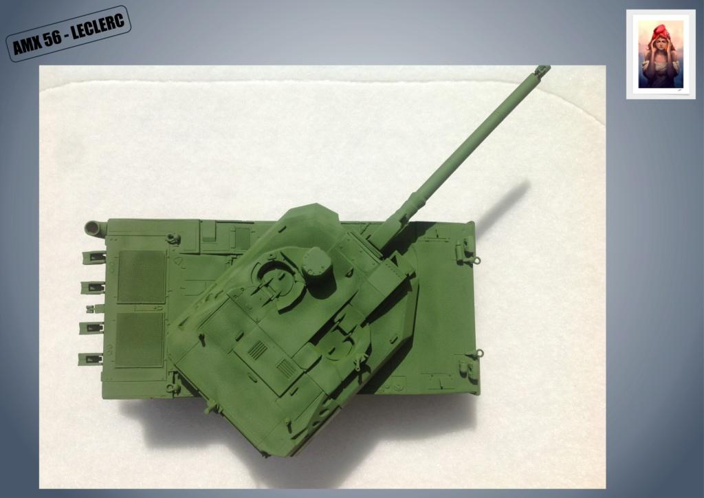 AMX 56 - LECLERC - HELLER 1/35 - FINI PAGE 7 - Page 2 Amx56133