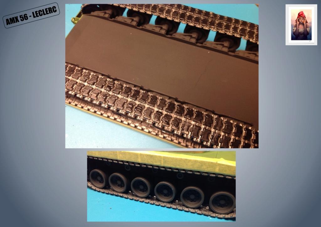 AMX 56 - LECLERC - HELLER 1/35 - FINI PAGE 7 - Page 3 Amx56143