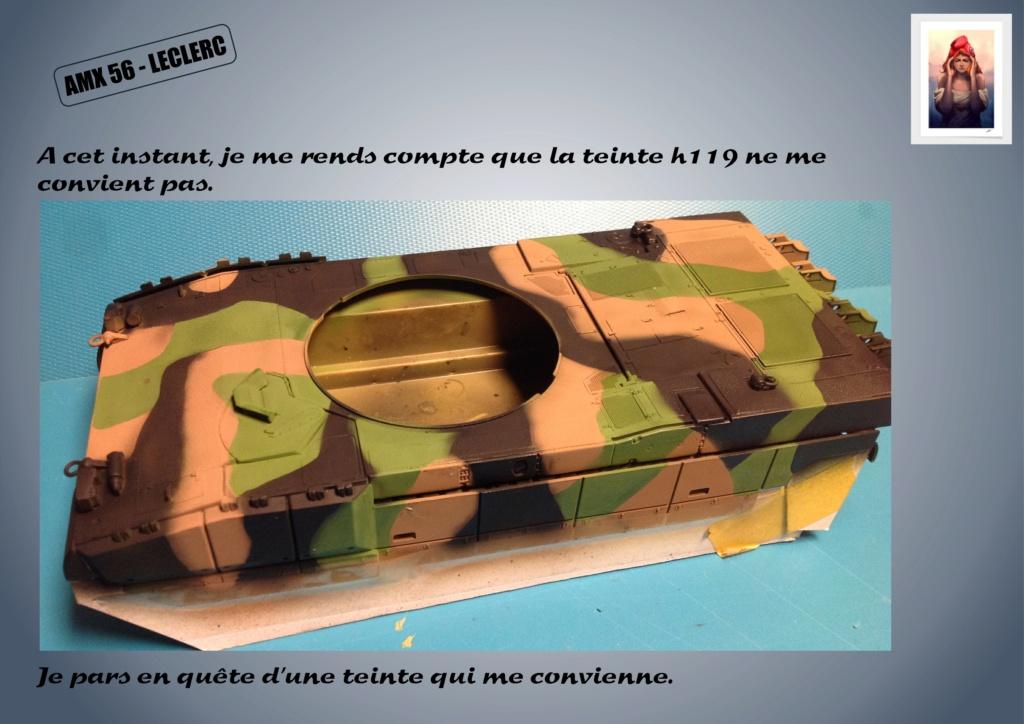 AMX 56 - LECLERC - HELLER 1/35 - FINI PAGE 7 - Page 3 Amx56149