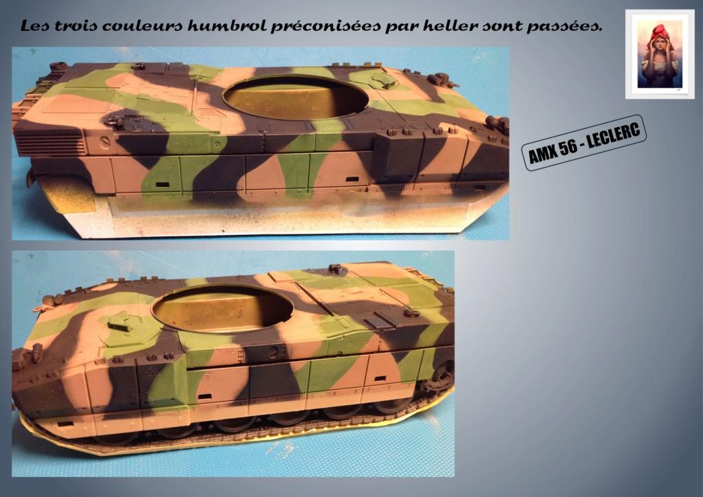 AMX 56 - LECLERC - HELLER 1/35 - FINI PAGE 7 - Page 3 Amx56151