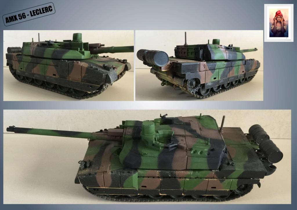 AMX 56 - LECLERC - HELLER 1/35 - FINI PAGE 7 - Page 4 Amx56162