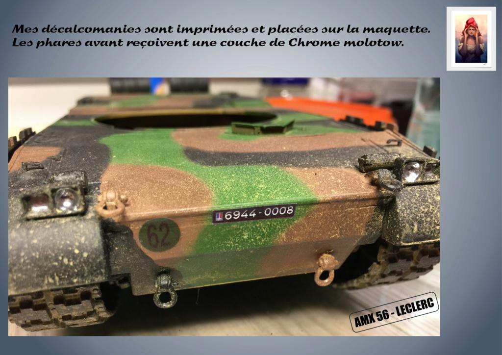 AMX 56 - LECLERC - HELLER 1/35 - FINI PAGE 7 - Page 5 Amx56172