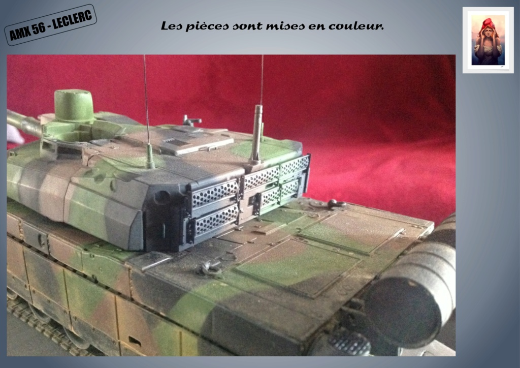 AMX 56 - LECLERC - HELLER 1/35 - FINI PAGE 7 - Page 5 Amx56178