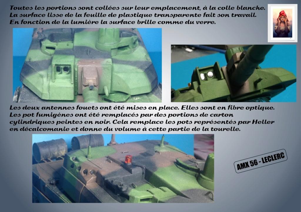 AMX 56 - LECLERC - HELLER 1/35 - FINI PAGE 7 - Page 5 Amx56183