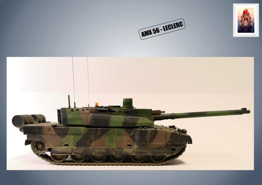 AMX 56 - LECLERC - HELLER 1/35 - FINI PAGE 7 - Page 5 Amx56184