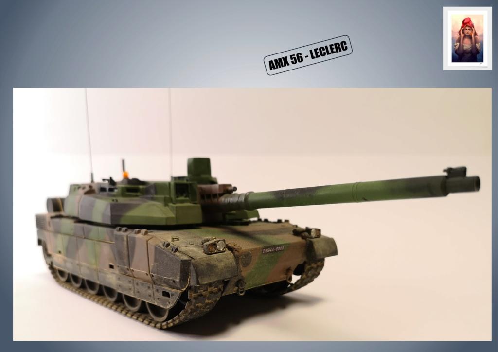 AMX 56 - LECLERC - HELLER 1/35 - FINI PAGE 7 - Page 5 Amx56186