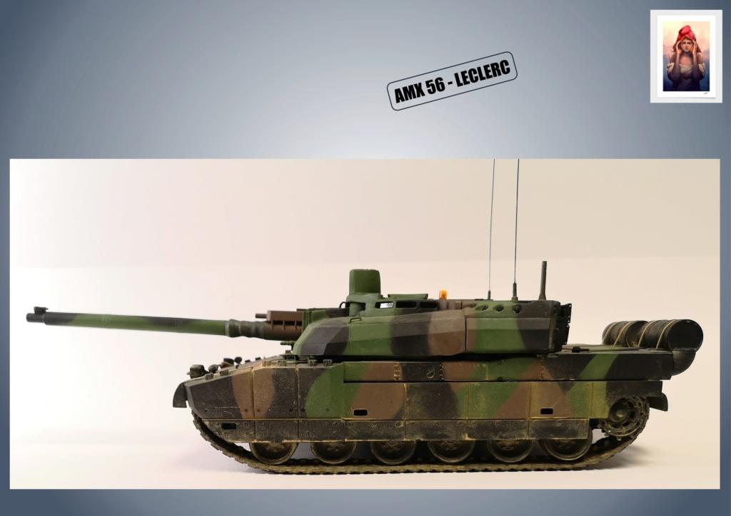 AMX 56 - LECLERC - HELLER 1/35 - FINI PAGE 7 - Page 5 Amx56187