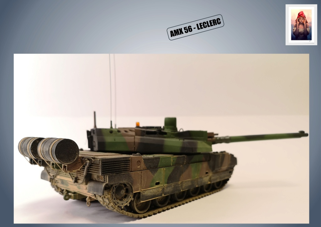 AMX 56 - LECLERC - HELLER 1/35 - FINI PAGE 7 - Page 5 Amx56188