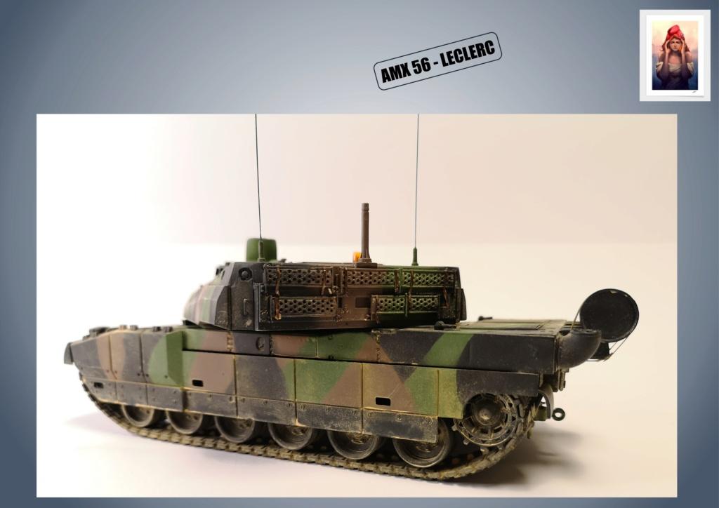 AMX 56 - LECLERC - HELLER 1/35 - FINI PAGE 7 - Page 5 Amx56189