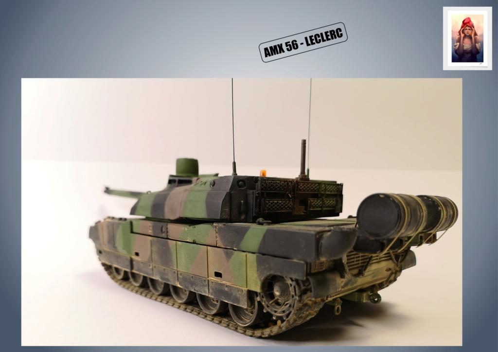 AMX 56 - LECLERC - HELLER 1/35 - FINI PAGE 7 - Page 5 Amx56190