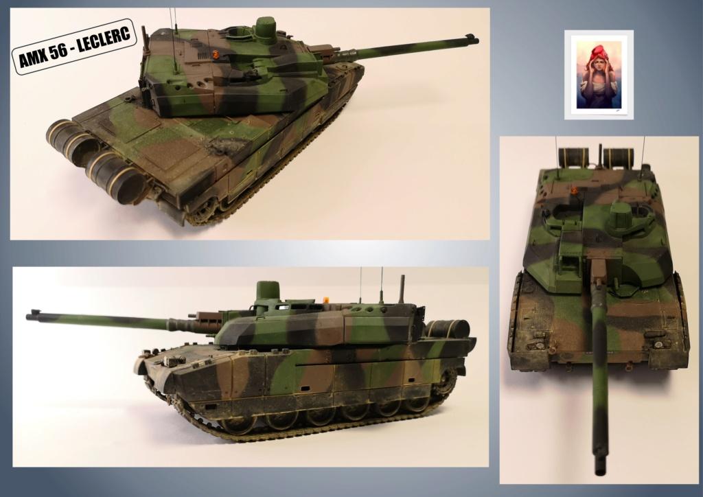 AMX 56 - LECLERC - HELLER 1/35 - FINI PAGE 7 - Page 5 Amx56191