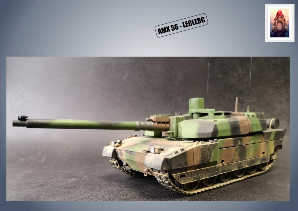AMX 56 - LECLERC - HELLER 1/35 - FINI PAGE 7 - Page 5 Amx56192