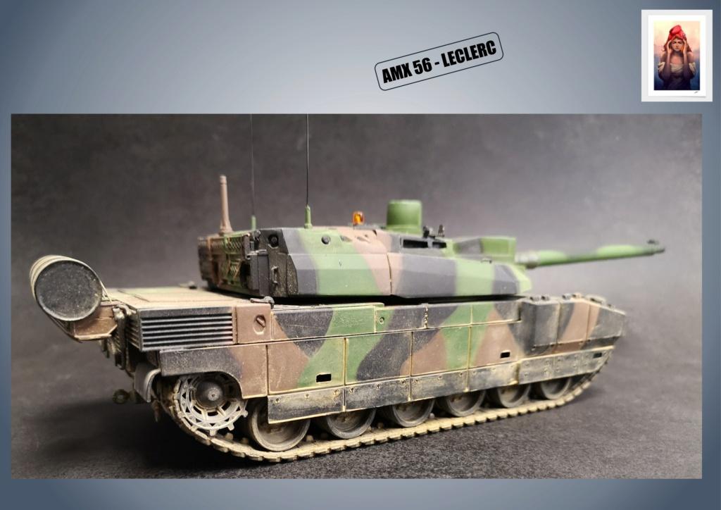 AMX 56 - LECLERC - HELLER 1/35 - FINI PAGE 7 - Page 5 Amx56193
